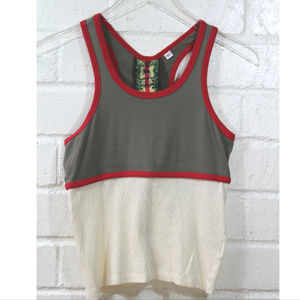 L.A.M.B. Gwen 1st Season Old School Zip Back Tank